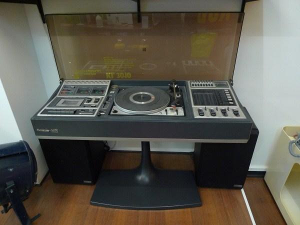 Boutique polychrome - Chaine hifi avec platine vinyl ...